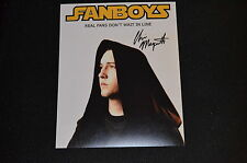 CHRIS MARQUETTE signed Autogramm In Person 20x25 cm FANBOYS Linus