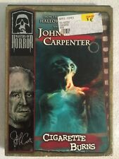 John Carpenter (NEW SEALED DVD) Cigarette Burns ANCHOR BAY OOP!
