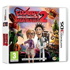 Cloudy with a Chance of Meatballs 2 Game Nintendo 3DS , 2DS and 3DS XL Brand New