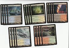 Magic the Gathering MTG**20x*Zendikar Refuge Lands*NM-SP*4x of each type*