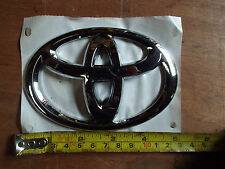TOYOTA FRONT SIDE BOOT BONNET CHROME BADGE EMBLEM GENUINE NEW AYGO YARIS PRIUS