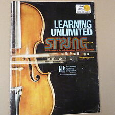 double bass LEARNING UNLIMITED STRING METHOD, Bass Leve 1