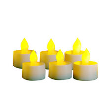 6pcs Flameless LED Tealights Tea Lights, Flameless Candles with Remote