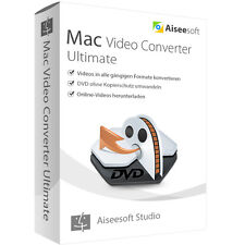 Video Converter Ultimate 9 MAC Aiseesoft 1 Jahr - Lizenz ESD Download 19,99 !!