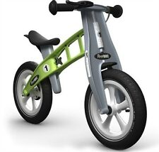 FirstBIKE RACING Children's Balance Run Bike with Brake - Green L2009 Kids NEW