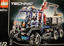 LEGOS  -  Set of 4 INSTRUCTION BOOKS  for  Lego Set  8273 Technic Off Road Truck