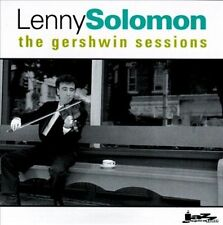 Lenny Solomon- The Gershwin Sessions (CD, 1995, Jazz Inspiration) VGC