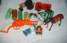 VINTAGE MIXED Wind-Up Tin BRONCO Antique Toy Box Lot BUDDY-L AUBURN IDEAL RENWAL