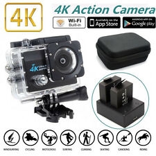 SJ9000 HD 4K 30fps WiFi Sport Action Helmet Camera + Battery Charger + Carry Bag