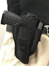 Holsters4less Gun Holster With Extra Magazine Pouch fits Glock 26, 27, 28, 39