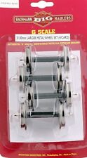 Bachmann G Scale Train (1:22.5) Large Metal Wheels 4 Per Card 92421