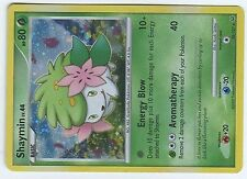 POKEMON PLATINUM HOLO N°  38/127 SHAYMIN 80 HP Mint Condition Very RARE
