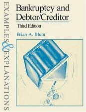 Bankruptcy and Debtor/Creditor: Examples and Explanations (Examples & Explanati