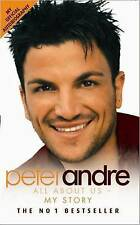 Peter Andre - All About Us - My Story, Peter Andre Paperback Book The Cheap Fast