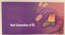 2016 AA FIRST PREFIX Australian New $5 dollar note UNC IN FOLDER   FREE POST !!