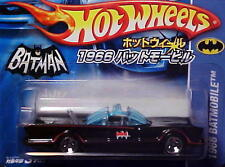 Hot Wheels JAPAN ISSUE 1966 TV Series Batmobile Short Card 1/64 George Barris