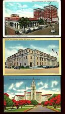 FL36 Auto's at Post Office, Veterans Administration, Federal Building