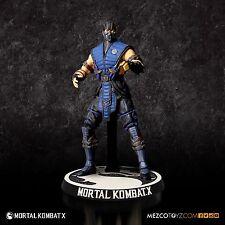 "Mortal Kombat X Sub-Zero 3 3/4"" Action Figure 3.75"" by Mezco Mortal Kombat 10"