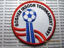 Patch GOSHEN INDOOR TOURNAMENT 1997 SOCCER BALL
