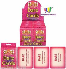 PACK OF 24 HEN NIGHT OUT PARTY DARE CARD GIRLS ACCESSORIES NOVELTY GAME FUN NEW