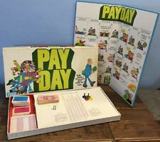 Vtg 1975 Payday Board Game Parker Brothers All Pieces Cards Money