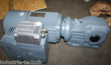 sew motor con engranaje reductor 2.2 KW 190 Min helicoidalese , freno gearbox