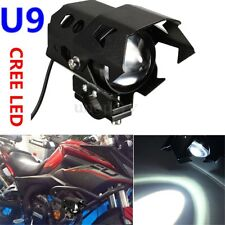125W FARETTO U9 LED MOTO LAMPADA FARO ANTERIORE SUPPLEMENTARI 3000LM 3 MODE