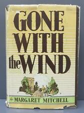 Gone With The Wind Margaret Mitchell 1st Edition June 1936 ORIGINAL DUST JACKET