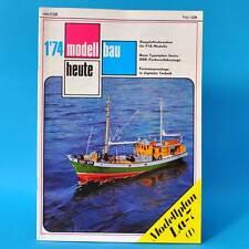 Modellbau heute 1/1974 GST DDR Flugmodellbau Schiffsmodellbau | Lawotschkin LA-7