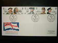 1982 MARITIME HERITAGE ROYAL MAIL COMMEMORATIVE COVER & PORTSMOUTH SHS