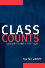 Class Counts : Comparative Studies in Class Analysis (Studies in Marxism and Soc
