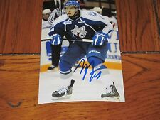 NICK BAPTISTE AUTOGRAPHED SUDBURY WOLVES 4X6 PHOTO # 5