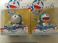 BANDAI DORAEMON Figure Vinyl Gadget Robot Cat Set of 2 A