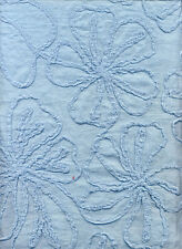 100% Cotton Sky Flower Embroidered Dress Craft Fabric Material
