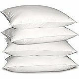 Super Soft recron Fibre Pillow set of 4 (17X27)