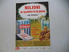 advertising Pubblicità 1967 FRIZZINA STAR