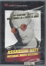 Dvd video **ASSASSINI NATI NATURAL BORN KILLERS** Nuovo Sigillato 1994