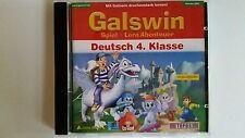 Deutsch 4. Klasse Galswin Spiel Lern Abenteuer CD wie NEU