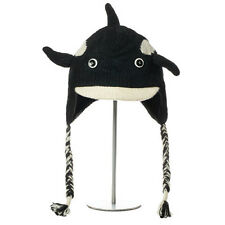 New Winter Hat Wool Orca Pilot Hat Adult Youth Size FAIR TRADE PRODUCTS