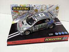 """Slot SCX Scalextric 6064 Peugeot 206 WRC """"V Open de España"""" 2001 Nº10"""