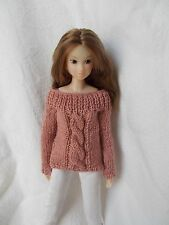 outfit sweater, maglia fatta a mano momoko,pullip,fashion royalty, barbie