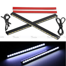 2x18 LED White High Power Car DRL 5630 COB Daytime Running Light Fog Driving #JP