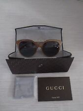 Gucci 3674S 4WW Gold Copper 3674S Cats Eyes Sunglasses Lens Category 2