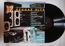 Reggae Hits Volume 12 UK LP 1992 Capleton Chaka Demus Tiger Simpleton
