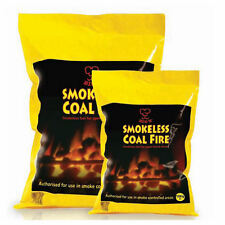 Smokeless Coal Open Fires Stoves Winter Multi Fuel House Fireplace Warm 10kg Bag