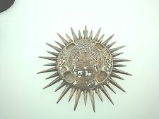 Sterling Silver(vintage?)Extra Large Mayan? Pendant/pin