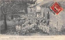 CPA 26 MONTELIMAR 52e REGIMENT D'INFANTERIE CORVEE DES POMMES DE TERRE A LA CUIS