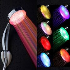 7Colors Automatic Changing Home Bathroom LED Shower Head Water Faucet Glow Light