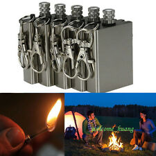 5PCS Fire Starter Metal Match Magnesium Flint Lighter Outdoor Camping Survival
