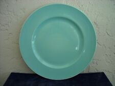 Wedgwood Sea Glass Collection Large Dinner Plate or Charger  Aqua Turquoise